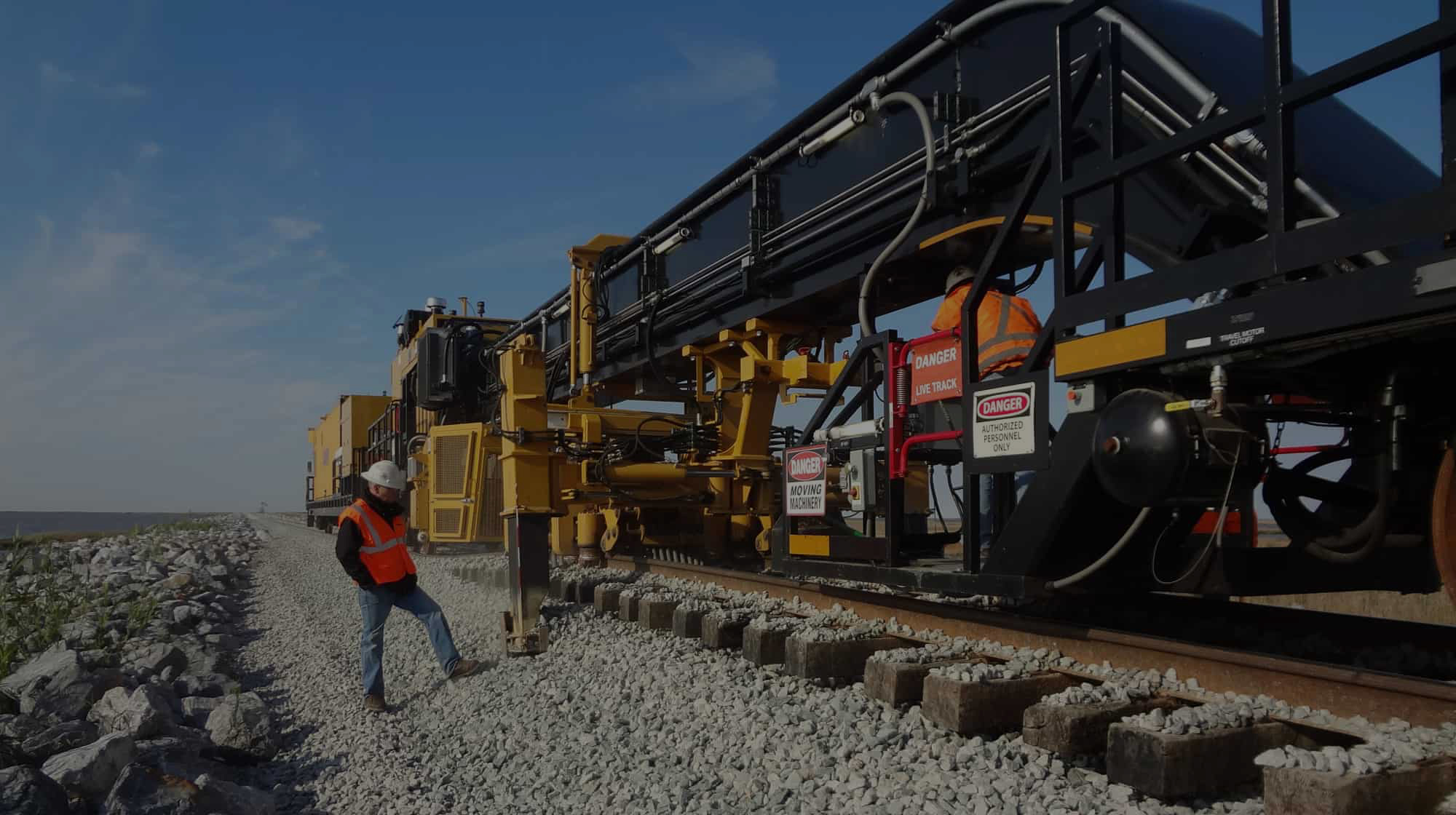 making rail track by professional engineers