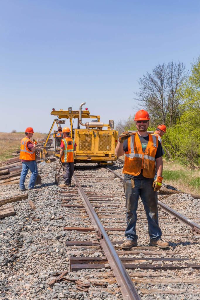repairing track of rail