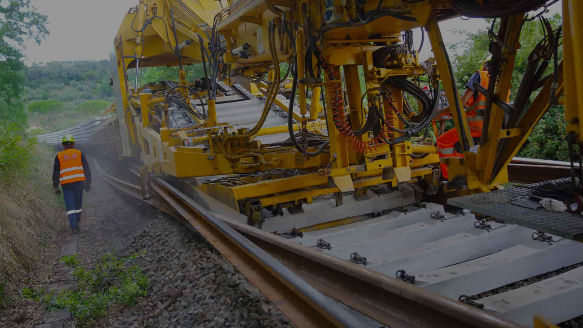 Rail Salcef track maintenance