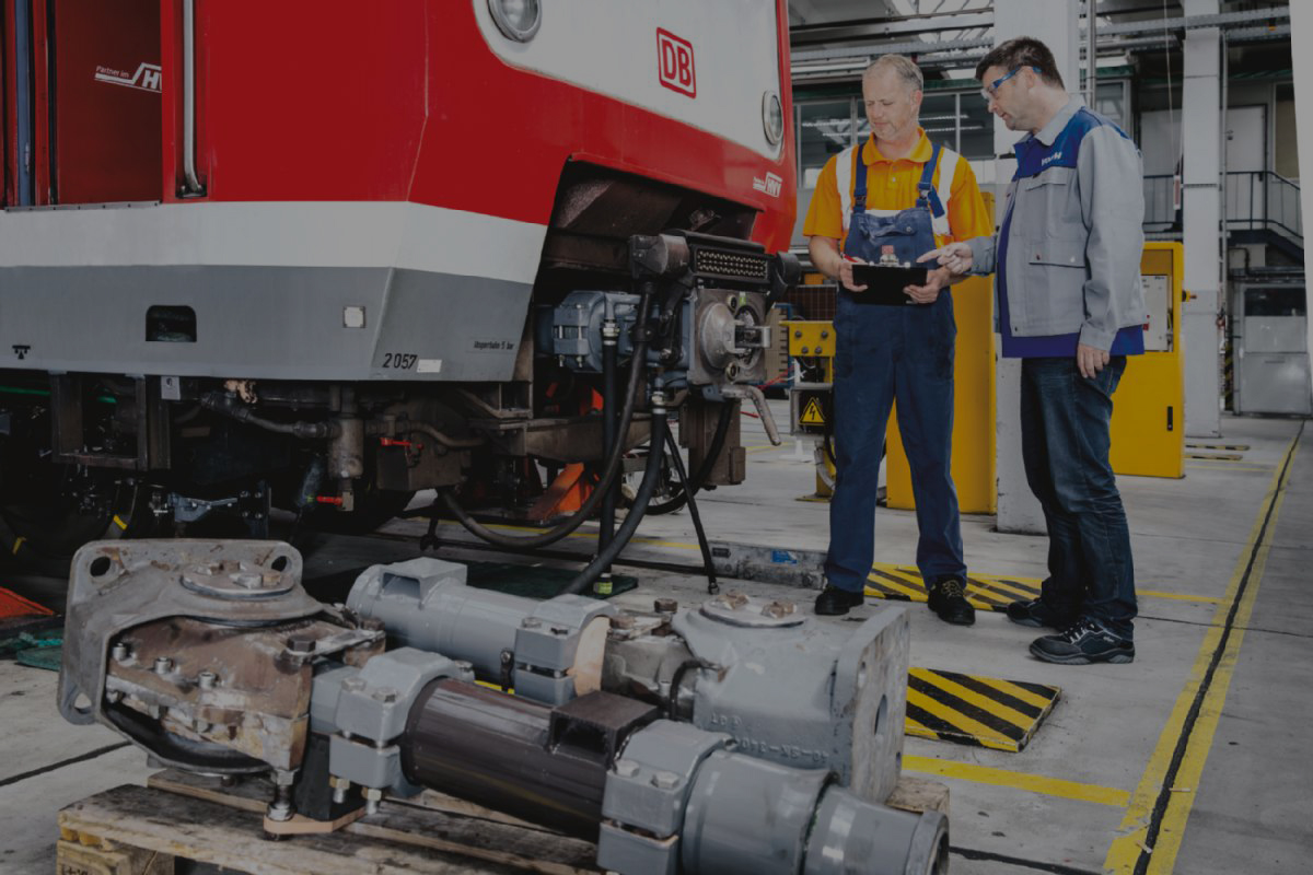 maintaining train professional engineers