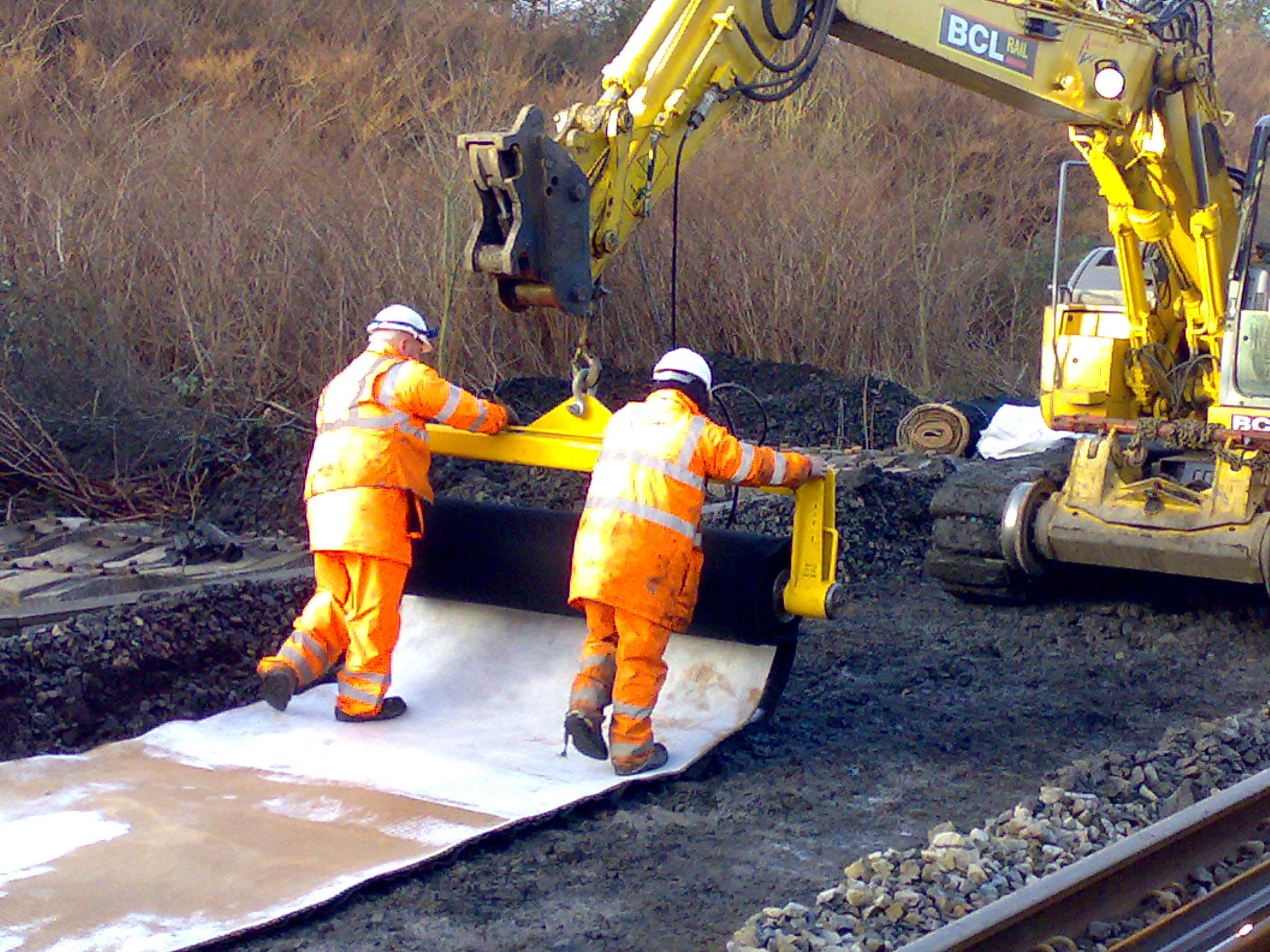 working of railway track