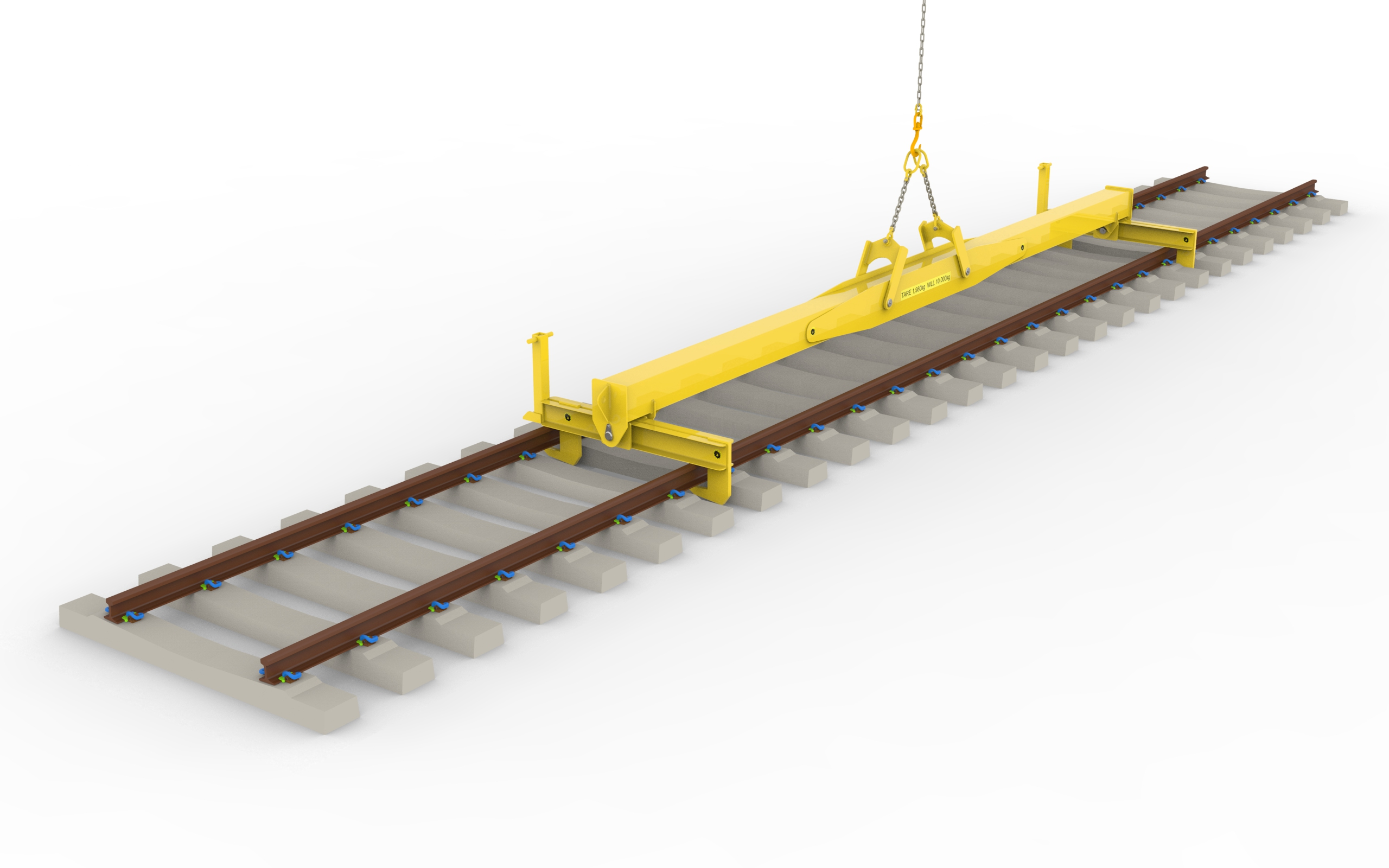 Crane panel Beam for infra structure