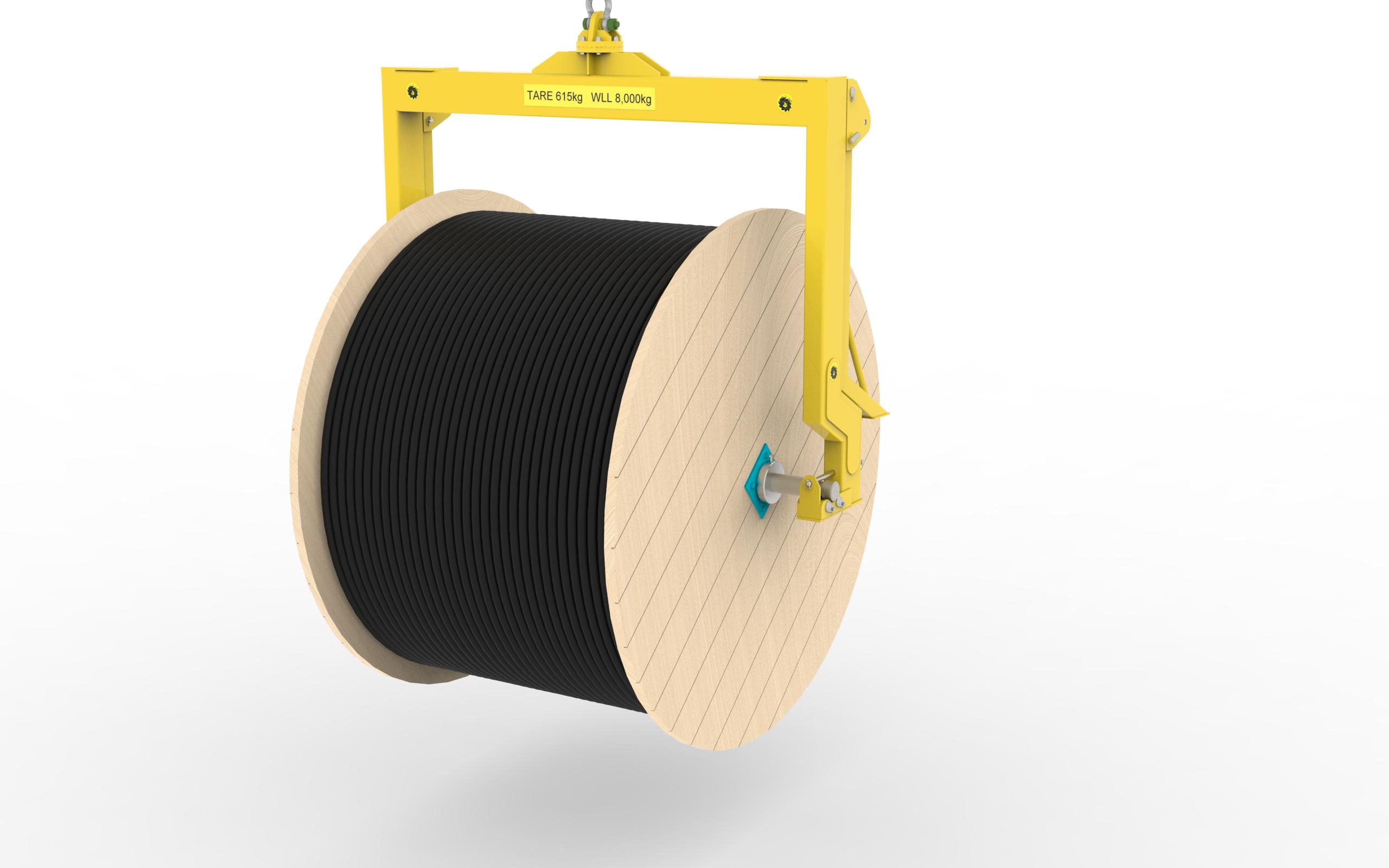 Integrated drum handler of mechanical industry